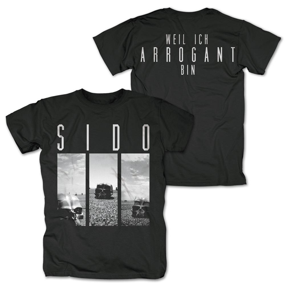 Arrogant von Sido - T-Shirt jetzt im Sido Official Shop
