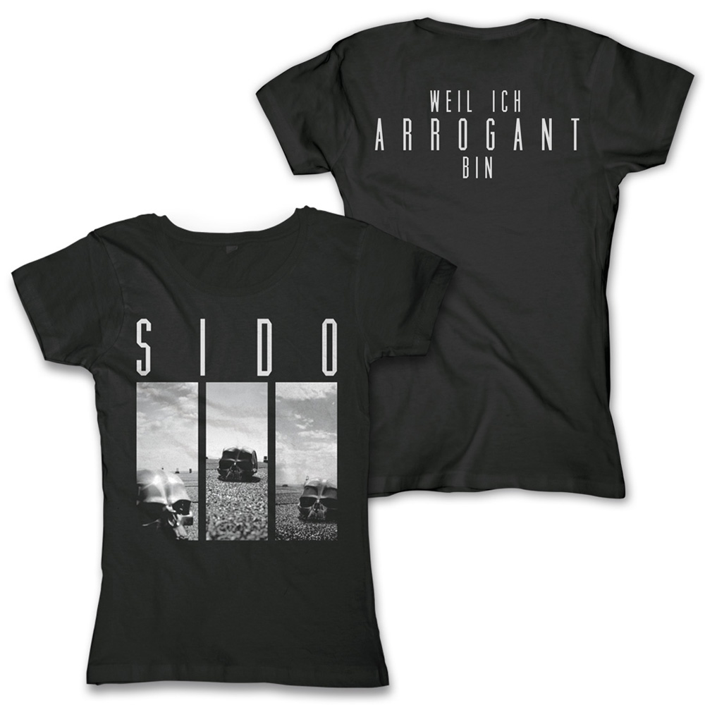 Arrogant Shop official sido merchandise shop - arrogant - sido - girlie shirt
