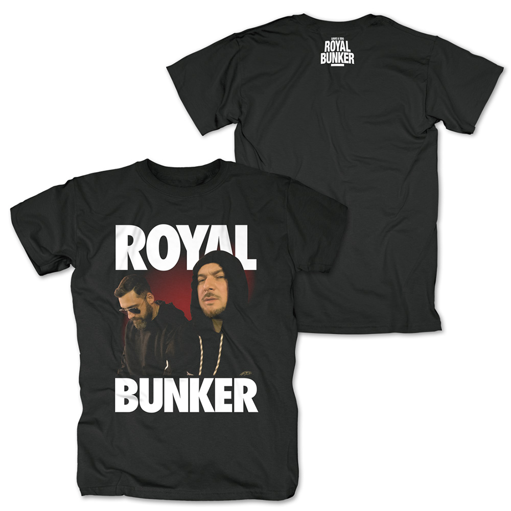 Royal Photo von Savas & Sido - T-Shirt jetzt im Sido Official Shop
