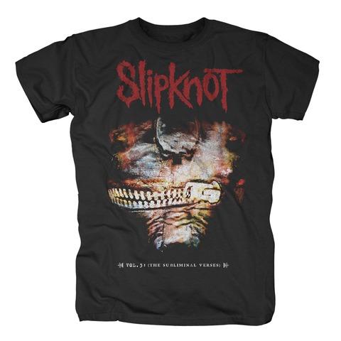 √The Subliminal Verses Album Cover von Slipknot - T-Shirt jetzt im Slipknot - Shop Shop