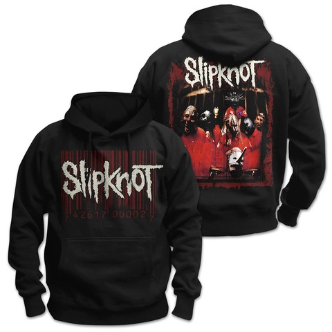 √Debut Album Cover von Slipknot - Kapuzenpullover jetzt im Slipknot - Shop Shop
