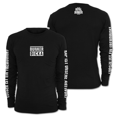√Bunker Dicka von Savas & Sido - Long-sleeve jetzt im Sido Official Shop