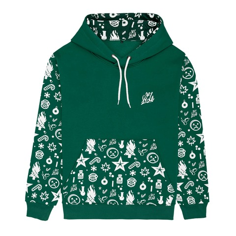 √Ho Ho Ho Allover 2019 von Sido - Hood sweater jetzt im Sido Official Shop