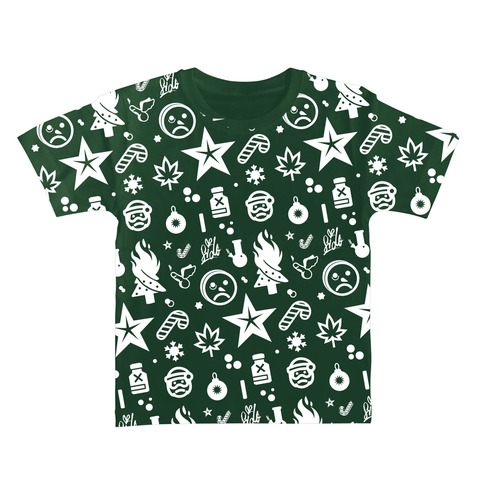 Ho Ho Ho Allover von Sido - Kids Shirt jetzt im Sido Official Shop