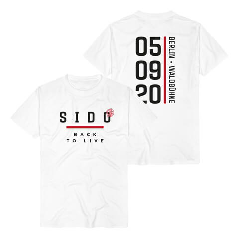 √Back To Live Berlin von Sido - T-Shirt jetzt im Sido Official Shop