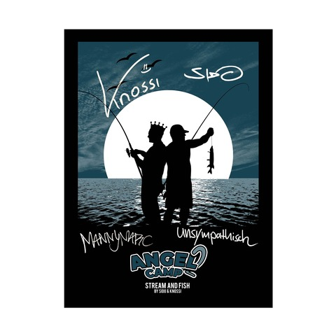 Angel Camp 2 by Sido - Screen print poster limited - shop now at Sido Official store
