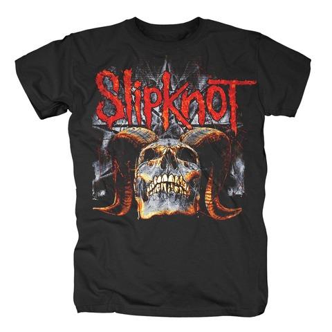 √Star Skull von Slipknot - T-Shirt jetzt im Slipknot - Shop Shop